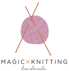 Magic knitting logo